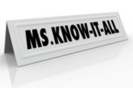 Ms. KnowitAll